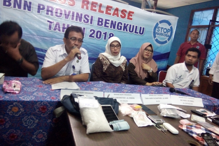 Press Release BNNP Bengkulu