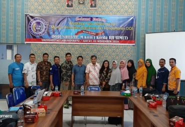 ULB Gelar Workshop Tata Kelola Jurnal