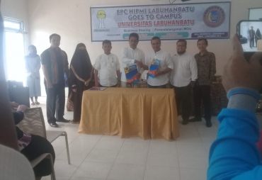 Hipmi Labuhanbatu Goes To Campus ULB