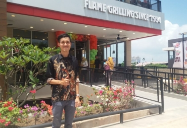 Burger King Batam Resmi Launching