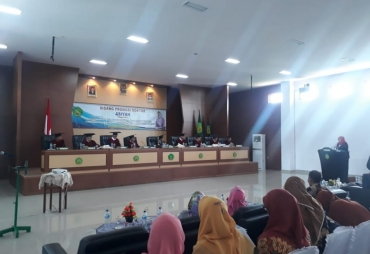 Program Pascasarjana IAIN Gelar Sidang Akhir Program Doktor